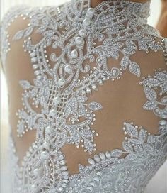 back details pearls and lace onds). In Latino communities a quinceanera is a… Bridal Dresses, Wedding Gowns, Wedding Bride, Dresses Elegant, Beautiful Dresses, Gown Photos, Pearl And Lace, Here Comes The Bride, Marry Me