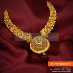 gold kanthi necklace 600x592 photo Deepika dks Pinboard trails