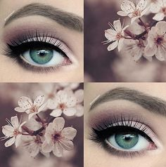 Casual spring makeup