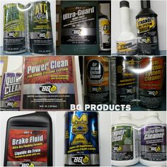 BG products help lengthen the  life of your car.