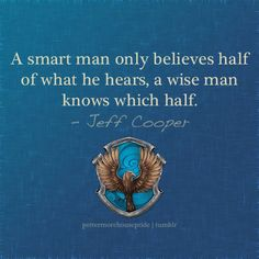 Ravenclaw House quote
