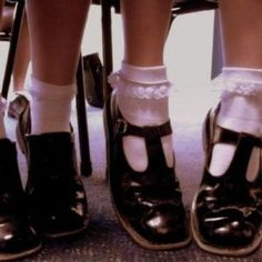 Me and Poppy have cute frilly socks! Sock Shoes, Cute Shoes, Tap Shoes, Me Too Shoes, Ballet Shoes, Dance Shoes, Elle Fanning, Penelope, Moda Vintage