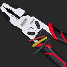 Multifunctional Flat Wire Cutters Wire Stripping Electrician Pliers T Multifunctional, Wire, Tools, Flat, Love, Bass, Ballet Flats, Appliance, Cable