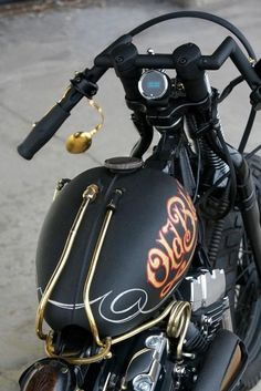 Old Black built by Black Way Motorcycles of Switzerland - image 5979