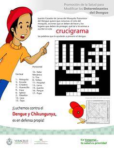 Resultado de imagen para crucigramas sobre enfermedades por vectores