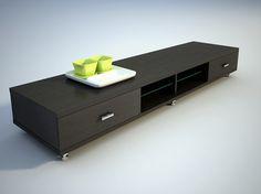 Modelo 3D de la caja de madera