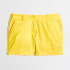J. Crew chino shorts. Can't wait to break these out this summer!