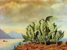 Rene Magritte - The Island of Treasures, 1942 René Magritte 1898 - 1967  More @ FOSTERGINGER At Pinterest