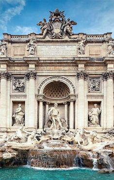 Fontana de Trevi, Roma, Italia, 1732 — 1762 | José Miguel Hernández Hernández