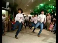 COWBOYS DANCE COUNTRY SHOW - YouTube