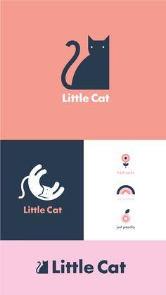 vintage logo Logo design, logo inspiration, logo f - vintage Logo Gato, Cat Logo, Vintage Logo, Vintage Graphic, Vintage Branding, Logo Inspiration, Logo Branding, Boutique Logo, Cat Design