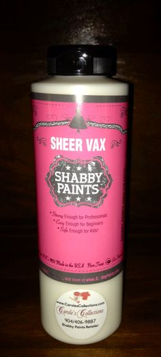 Shabby Paints Vax. #carolescollections #vax #shabbypaints