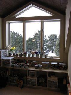 Art Loft window