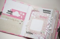 Crafty by AgnieszkaBe: albumy Mini Albums, Girly, Crafty, Day Planners, Women's, Girly Girl, Mini Scrapbooks