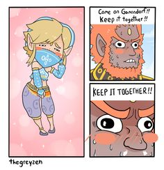 Join me adventures on: Tumblr / Facebook The power of Gerudo Link is greater than anything that ever existed!...OTL Alt:   Moar BotW comics!