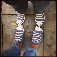 Can we have the same chucks...why not.