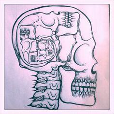 yo dawg i heard you like skulls...  @Robyn Lustbader