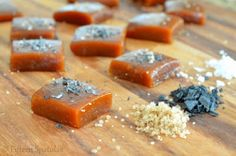 i should also make these!!  Pumpkin Spice Caramels