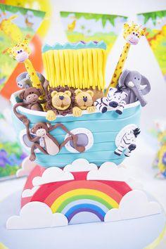 Noah's Ark Cake - Cake by Paul Bradford Sugarcraft School