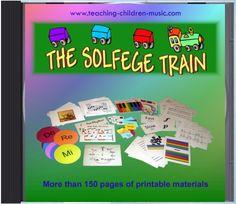 Teaching Children Music: The Solfege Train