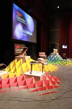 Lawrence Kwok: TEDx Set Design