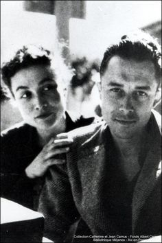 Albert Camus & Francine Faure, a very sad love story Book Writer, Book Authors, Books, Writers And Poets, Life Quotes Love, Playwright, Black And White Photography, Famous People, Pose
