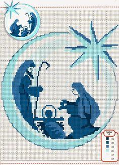 Nacimiento en circulo azul !!!                                                                                                                                                      More