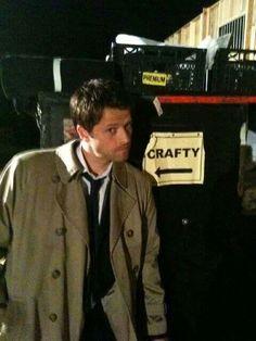 Misha Collins <---Crafty