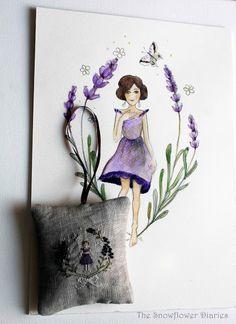 The Snowflower Diaries: MEET THE LAVENDER GIRL...