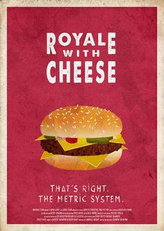 Royale with Cheese by Pierre-Alain Dubois