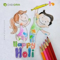 Celebrate the colours of life!!  Happy Holi people  🙂  #Holi #happyholi2018 #Holi2018 #holifestival #holifun  #FestivalOfColours #celebrations