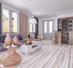 Salon styl Industrialny - zdjęcie od SWISS KRONO - Salon - Styl Industrialny - SWISS KRONO
