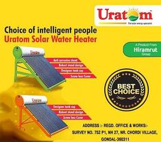 As a renewable clean energy solar power can significantly reduce your household's production of pollution and harmful greenhouse gases.  Get your own Solar Water Heater from the best place.  #Uratom #Energy #solarpower #solarpump #solarenergy #solarpanels #solar