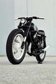 "Racing Cafè: Yamaha RD 350 1977 ""S2RD"" by Analog Motorcycles"
