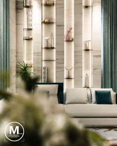 Reception located in cairo on Behance Feature Wall Design, Feature Walls, Interior Architecture, Interior Design, Interior And Exterior, Entrance Design, Living Room Tv, Ceiling Design, Contemporary Interior