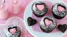 7 Heart-Shaped Valentine's Day Recipes: These treats will steal your heart on Va. 7 Heart-Shaped Valentine's Day Recipes: These treats will steal your heart on Valentine's Day! Valentine Desserts, Valentines Day Food, My Funny Valentine, Valentine Treats, Valentine Day Crafts, Holiday Desserts, Holiday Treats, Holiday Recipes, Desserts Valentinstag