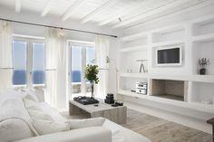 Villa en Mykonos: mediterránea y romántica