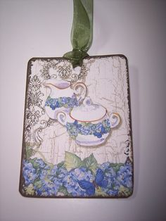 Tea Time Tags Set of 9 by mreguera on Etsy, $5.00
