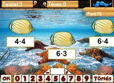 Matek Játék - Szorzótábla gyakorlás