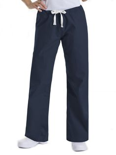 Not just for work Urbane Scrubs are cute enough to wear anywhere! The 9502 drawstring boot-cut pant has a slight low rise. Seamless leg for a smooth clean look. One back hip pocket. Made of polyester/cotton. Womens Fashion Australia, Curves Workout, Pants For Women, Clothes For Women, Scrub Pants, Drawstring Pants, Professional Women, Straight Leg Pants, Affordable Fashion