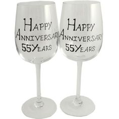 fifty fifth wedding anniversary gifts