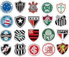 Escudo dos times! #brasileirão2012