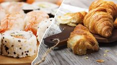 Two in One: Croissushi ist der Zwitterfutter-Trend 2018 Croissant, Sushi, Camembert Cheese, Trends, Food, Food Food, Essen, Crescent Roll, Meals