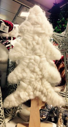 Wooly Christmas tree.