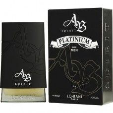 AB Spirit Platinum by Lomani is a fragrance for men. Top notes are bergamot, grapefruit and orange; middle notes are pink pepper, coriander, pepper and . Perfume And Cologne, Perfume Bottles, Men's Cologne, Good Cologne For Men, Best Fragrances, Smell Good, Bergamot, Sprays, Grapefruit