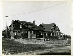 The Breden Galbraith house on 55 St. Eventually the house was turned into the Anthony Henday Restaurant.  1912 Red Deer, AB