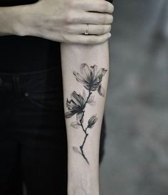 X-ray magnolias by Drag Ink