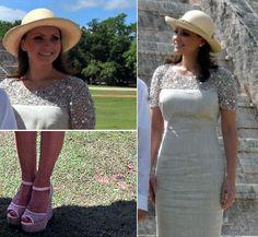 El look más veraniego de Angélica Rivera