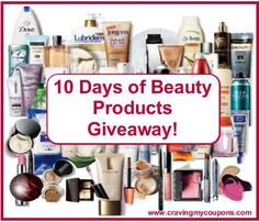 Enter the 10 Days of Beauty Products Giveaway! Come back each day to reveal a new prize you can enter to win! Day 10 winner will receive a beauty bag with ALL the products given away + EXTRAS!