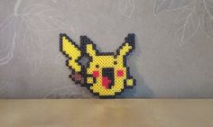 La Pikachu Perler by RavenTezea